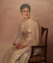 Portrait of Mary Stuckenberg by F. Sange